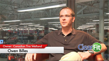 Canadian Tire Welland and ClearFit