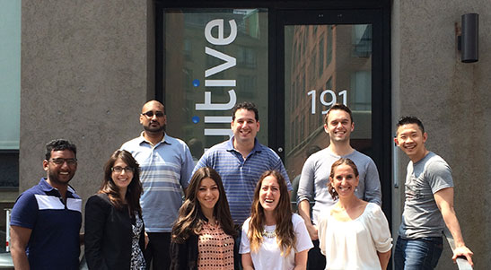 Sales team at Influitive