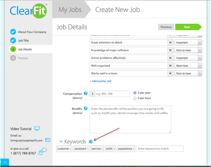 Resume Keyword Tool – Take 2! We heard your feedback – Clearfit